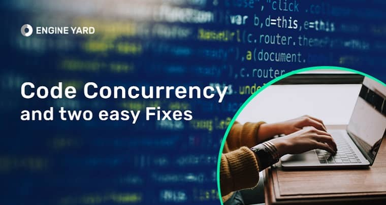code concurrency and easy fixes