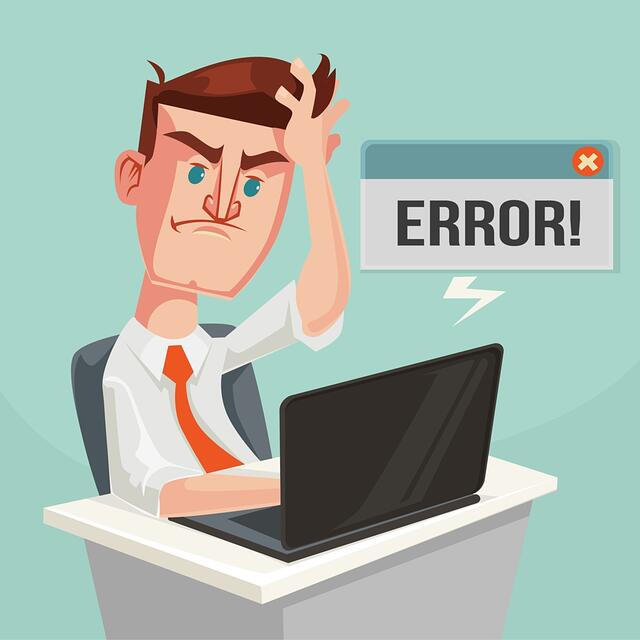 Error certificate