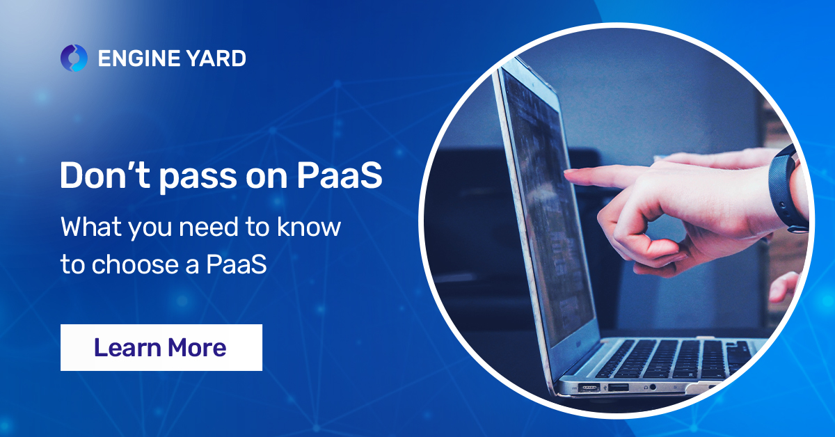 Don't pass on PaaS